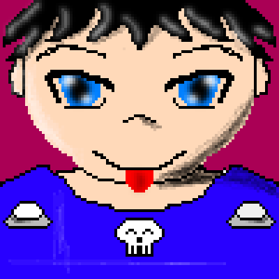 pixel art Anime Boy Boy Anime by Francisco_Lima piq