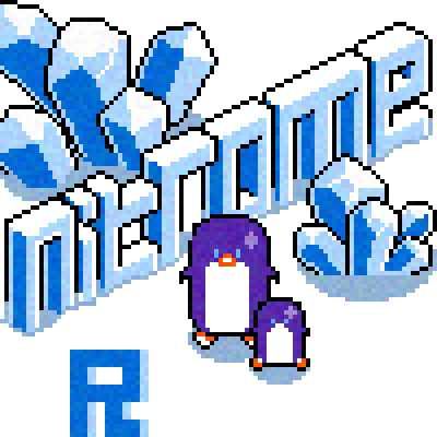 pixel art Nitrome - North Pole. polonorte BY: romullo nitrome ice gelo by romullo piq
