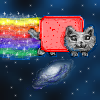 nyan cat colored