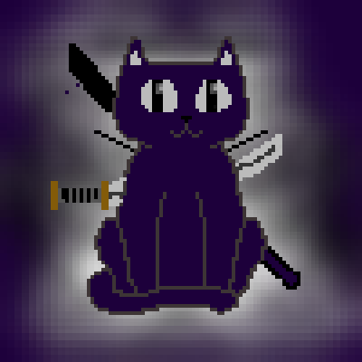 pixel art kill cat lololol by alt piq