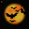 Bats in Moon Lite : )