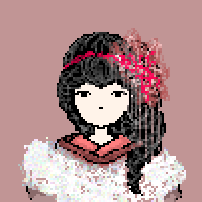 pixel art lil girl by miss m piq