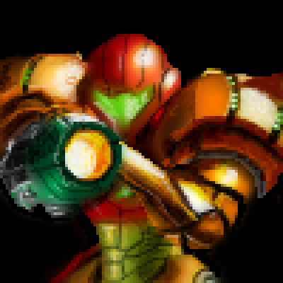 pixel art metroid by jmgandalf piq