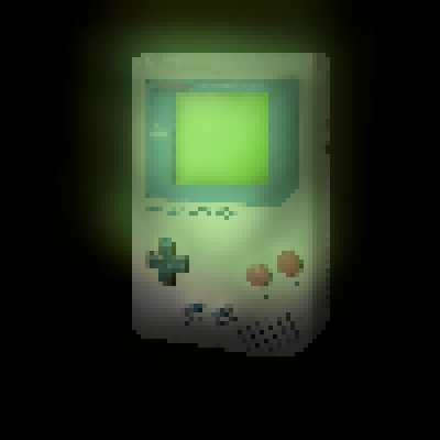 pixel art Game Boy Light e