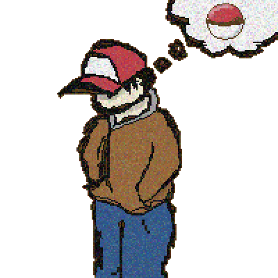 pixel art Red pokemon red by Francisco_Lima piq