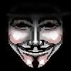 "V ""Guy Fawkes"" mask"