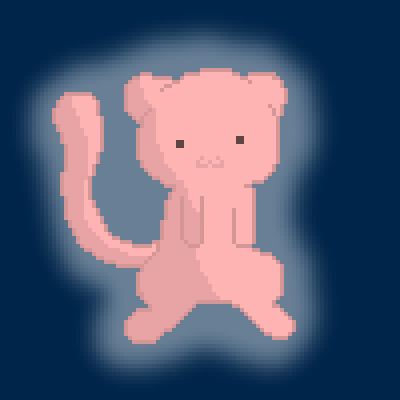 pixel art Mew for Fusion Ruby kawaii For pokemon Fusion Mew chibi Ruby phail by wolfgirl456 piq