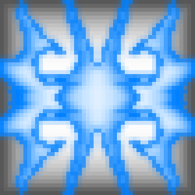 pixel art Blue  blue by gwidas78 piq