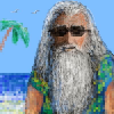 pixel art on holidays :) by jmgandalf piq