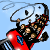 workers' rollercoaster service