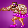Zangief in drag! -_-""