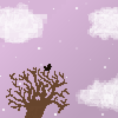 pixel art dusty lilac by goose piq