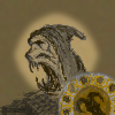 pixel art Worrior worrior by miss m piq