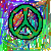 Camoflauge Peace Sign