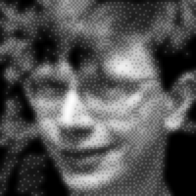 pixel art Dither Blur Tom picture head face avatar tom pixel dither man by cesarloose piq