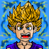 Epic Super Saiyan Goku (Finished)