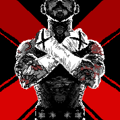 pixel art xXx Revolution c xXx cm m straight wallpaper punk cross wwe game edge video X games by Masto91 piq