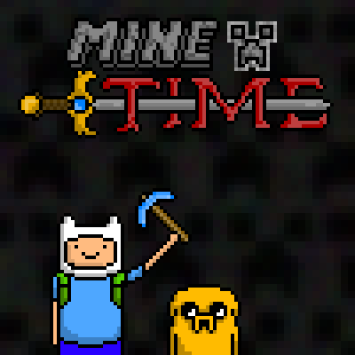 pixel art mine time! by FrightCreator piq