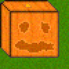 Minecraft pumpkin :D