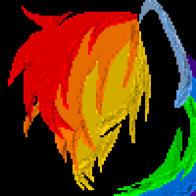 pixel art The Bad Side of Me me wolfgirl456 dash pony friendship rainbow of is wg little mlp dark bad productions magic the my side fim by wolfgirl456 piq