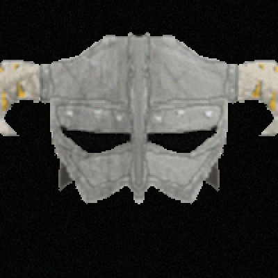 pixel art Dovahkiin helmet nord aent armor skyrim competition horn dark lol bethesda lord dovakiin by darklord piq