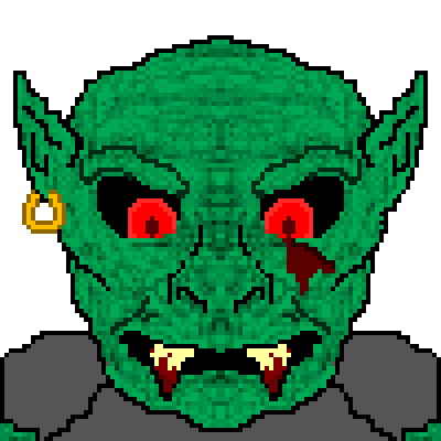 pixel art Groggle The Dwarf Goblin by Narwhal Picasso piq