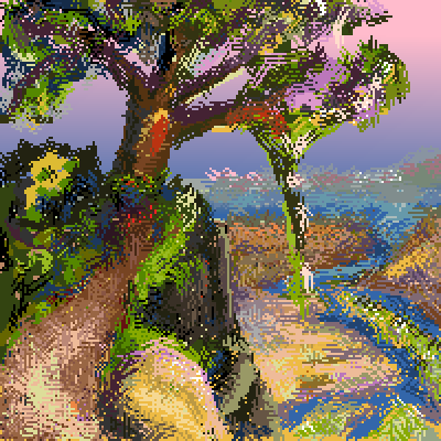 pixel art Outlook by pixelwiz piq