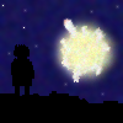 pixel art Planet Explosion earth explosion planets cool by XAIDANX piq