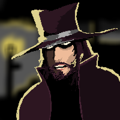 pixel art the stranger by adib6 piq