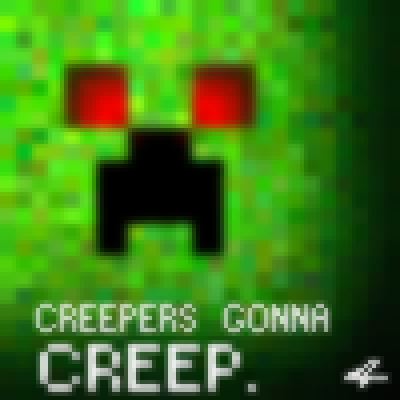 pixel art creepers gonna creep! yay gonna creepers nyancat0159 minecraft creep by fluttershy0159 piq