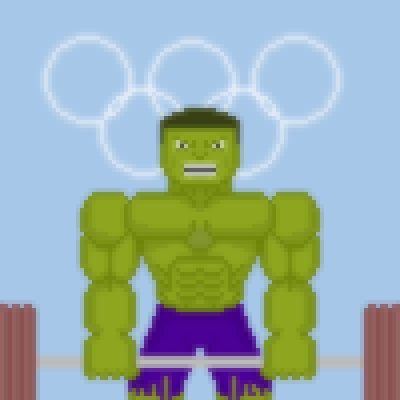 Hulk at olympic games