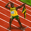 "Usain Bolt ""The Lightning"""