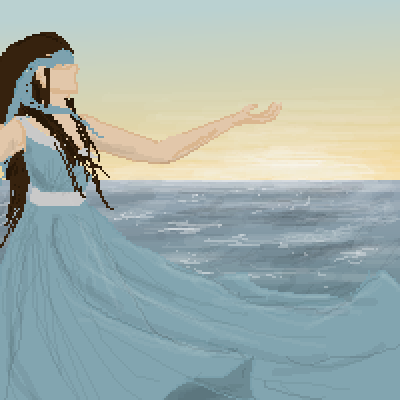 pixel art in progress by Paulanna piq