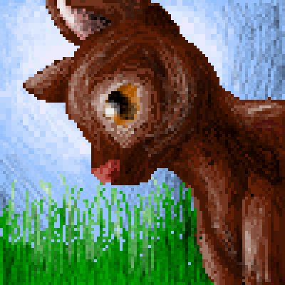 pixel art cat cat by Unt0t3n piq