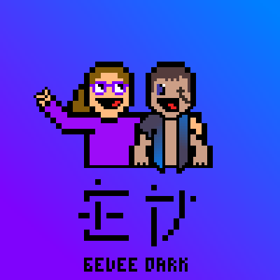 pixel art eeveegirl300 and Me :D *collaboration* BFF YO collaboration lol dark lord eeveegirl300 by darklord piq