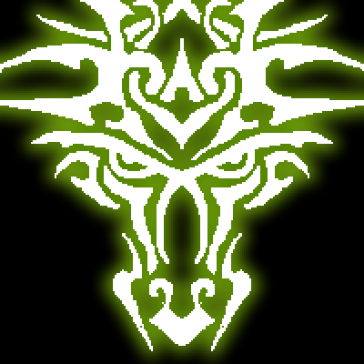 pixel art Emerald Dragon monster fire neon harry potter dragon zombi hands face egg by Masto91 piq