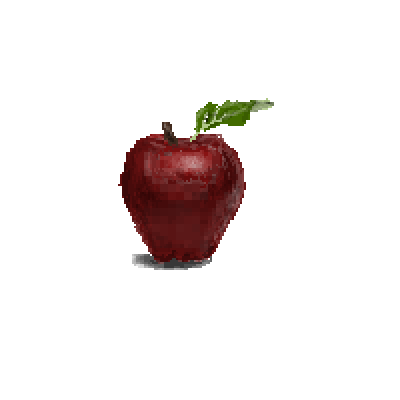pixel art It's an Apple healthy apple contest by BlueJay3 piq