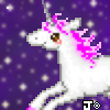 unicorn in the stars