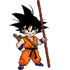 Kid Goku Colored