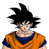 Goku Colored