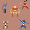 Avatar Characters: Pixelated