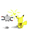 Magnetilo/Magnemite  with pikachu