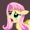 crying fluttershy.