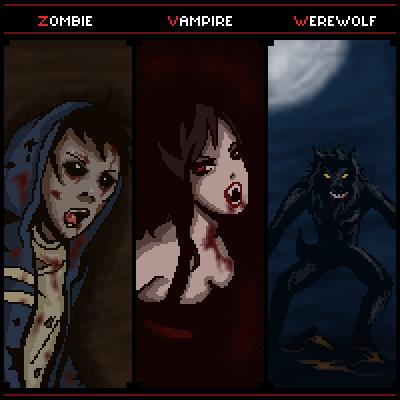 Vampire Vs Werewolf Vs... Zombie Vs Vampire Vs Werewolf