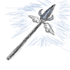 Angelic Diamond Spear