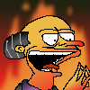 Mr Burns - emperor of hell