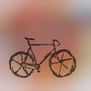 Color blur bike