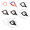 Realistic wolf eye tutorial