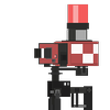 Isometric mini-sentry gun