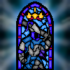 Knight Artorias Stained Glass